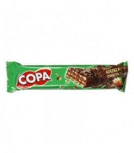 ویفر کاکائویی با کرم 32 گرم کوپا