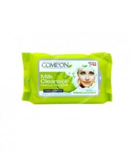 دستمال مرطوب تخصصی شیر پاک کن کامان