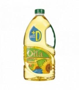 روغن آفتابگردان 1800 گرمی غنی شده با ویتامین دی اویلا
