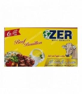 عصاره گوشت گاو 6 عددی Zer