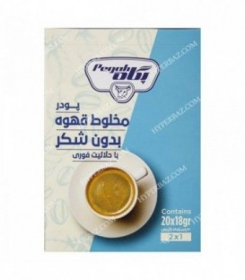 پودر شیر قهوه بدون شکر فوری 18 گرمی ساشه پگاه