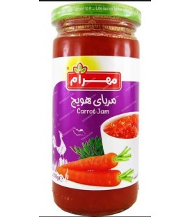 مربا هویج 300 گرمی مهرام