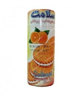 بیسکوییت کرمدار پرتقالی 400 گرمی سلامت