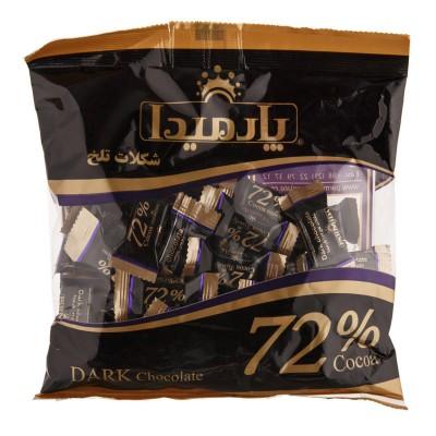 شکلات پاکتي تلخ 72% 330 گرمي پارميدا