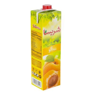 نوشیدنی زرد آلو 1 لیتری شریسا