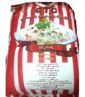 برنج دانه بلند هندی 10 کیلوگرمی GTC