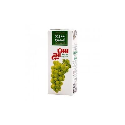 آبمیوه انگور سفید 200cc سن ایچ