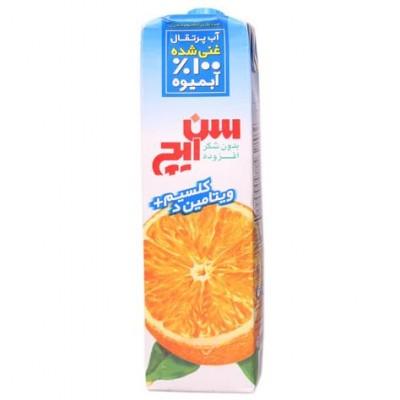 آب پرتقال غني شده با كلسيم + ويتامين D كامبي بلاك سن ايچ