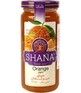 مربا پرتقال شیشه بلند 310 گرمی شانا