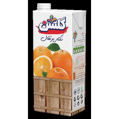 آب میوه تتراپک 1 لیتری پرتقال گلشن