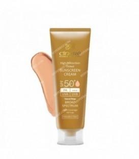 کرم ضد آفتاب 50 SPF رنگ یک 50 میلی لیتری سینره