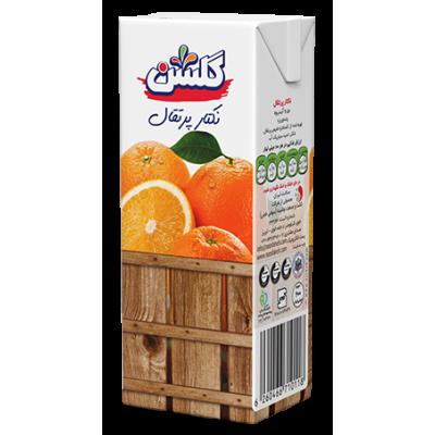آب میوه پرتقال تتراپک 200cc گلشنآب میوه پرتقال تتراپک 200cc گلشن