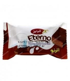 ویفر مغز کاکائو روکش شکلات اترنو شونیز