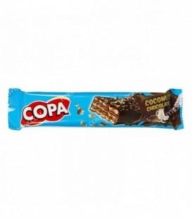 ویفر کاکائویی با کرم نارگیل 32 گرمی کوپا