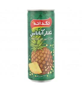 آبمیوه آناناس 240 سی سی تکدانه