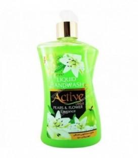 مایع دستشویی 450 گرمی سبز طرح جدید اکتیو