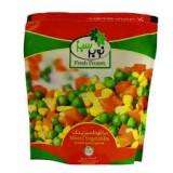 مخلوط سبزیجات 400 گرمی نوبر سبز