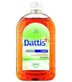 محلول ضدعفونی کننده 500 میلی لیری محیط با عطر لیمو داتیس