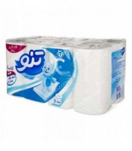 دستمال توالت 3 لایه 16 رول تنو