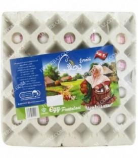 تخم مرغ شیرینگ 20 عددی پرطلایی بدون آنتی بیوتیک پرطلایی