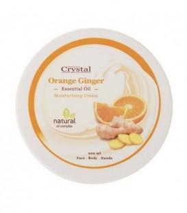 کرم مرطوب کننده دست و صورت پرتقال و زنجبیل 200 میلی لیتری کریستال