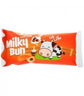 نان تخمیری میلکی بان کاکائو 50 گرمی شیبابا