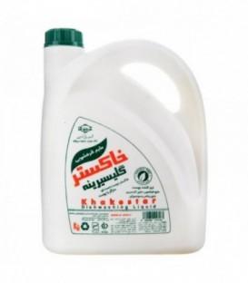 مایع ظرفشویی گلیسیرینه 2750 گرمی خاکستر