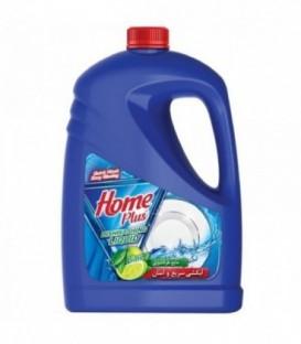 مایع ظرفشویی با آبکشی آسان حاوی لیمو 4 لیتری هوم پلاس