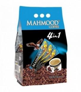 پودر مخلوط قهوه فوری 1*4 با طعم وانیل 24 عددی محمود