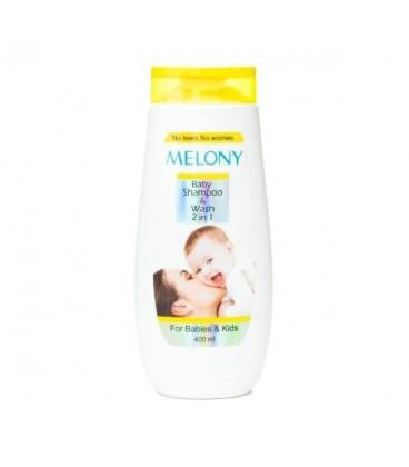 شامپو محافظت کننده مو و بدن کودک 250 میلی لیتری ملونی