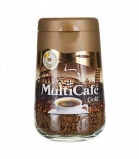 قهوه فوری گلد 100 گرمی مولتیکافه