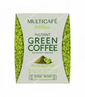 قهوه سبز فوری تندرستی ساشه 2 گرمی 30عددی مولتی کافه