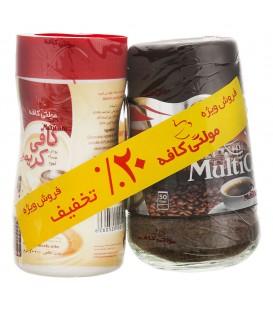 پک قهوه کلاسیک و کافی کریمر 300 گرمی مولتی کافه