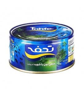 تن ماهی شوید و فلفل 180 گرمی تحفه