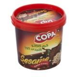 کرم شکلاتی بادام کنجدي 170 گرمی کوپا