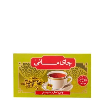 چای تی بگ 20 عددی با طعم هل مانی
