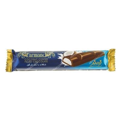 شکلات مغز نارگیل رگالو 25 گرمی فرمند