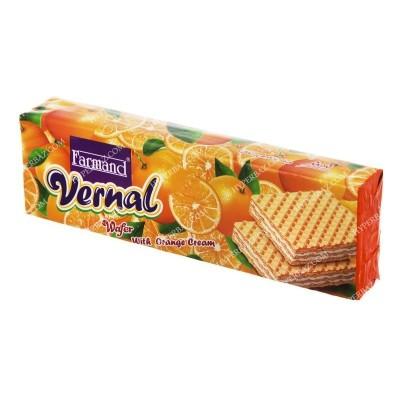 ویفر ورنال پرتقال 80 گرمی فرمند