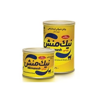 روغن کرمانشاهی ممتاز 450 گرمی کلید دار نیک منش