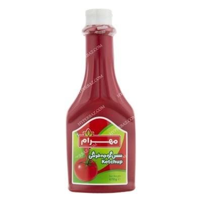 سس گوجه کتابی 670 گرمی مهرام