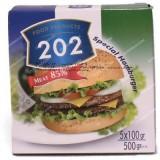 همبرگر ویژه 85 درصد گوشت 500 گرمی 202