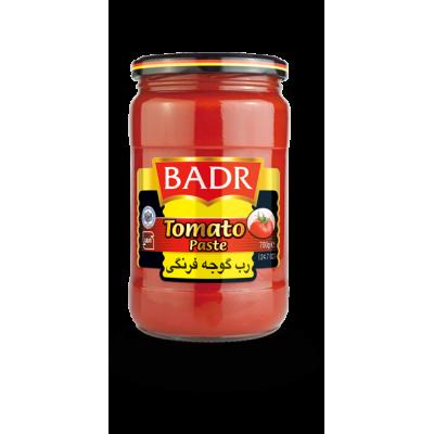 رب گوجه فرنگي شيشه 650 گرمي بدر
