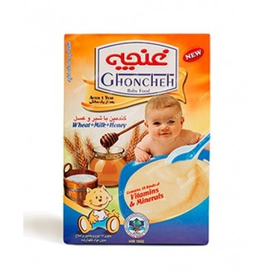 مکمل غذا کودکان گندمين شير وعسل 300 گرمی غنچه