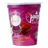 آلوچه لیوانی با طعم قره قروت 85 گرمی ایران چاشنی