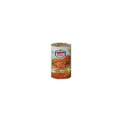 کنسرو خوراک بادمجان آسان بازشو 400 گرمی مجيد