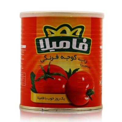 رب گوجه فرنگی 820 گرمی فامیلا