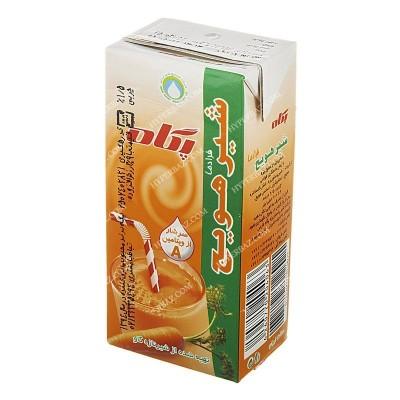 شیر هویج استریل پاکتی 200 سی سی پگاه