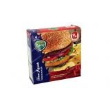 همبرگر ممتاز 60 درصد 500 گرمی آمل کاله