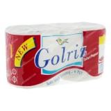دستمال کاغذی 2 قلوی سفید دلفی گلریز