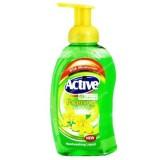 مایع دستشویی فوم 500 گرمی سبز اکتیو